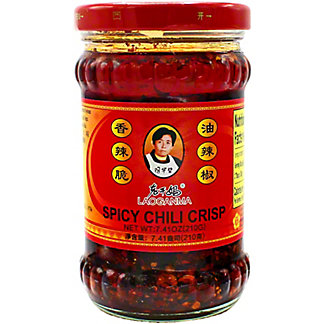 Laoganma Spicy Chili Crisp Hot Sauce, 7.41 oz