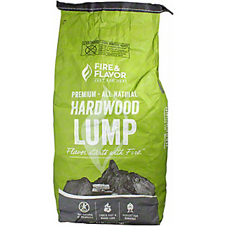 Fire & Flavor Lump Hardwood, 20 lb