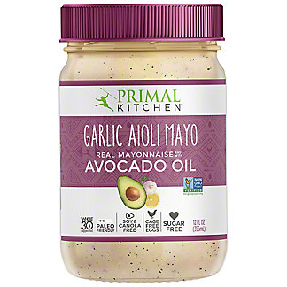 Primal Kitchen Garlic Aioli Mayo, 12 OZ