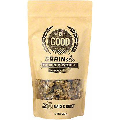 B Good Granola Clusters Oats & Honey, 10 OZ