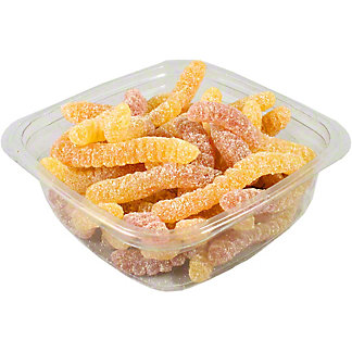Pierrot Gourmand Organic Sour Gummy Worms, lb