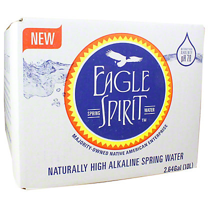 eagle spirit water in a box 2 64 gl central market
