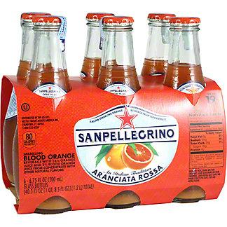 San Pellegrino Aranciata Rossa Sparkling Juice, 6/6.75