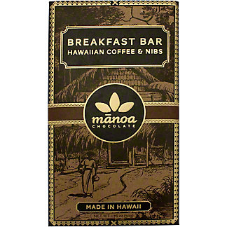 Manoa Dark With Coffee And Nibs, 50 g