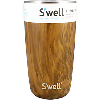 Swell Teakwood Tumbler, 18 oz