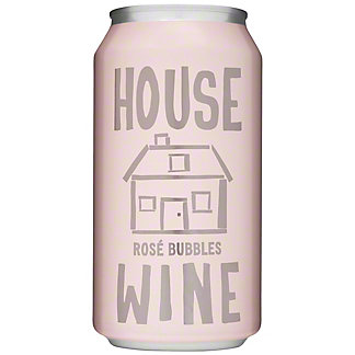 House Wine Rose Bubbles Can, 375 ML