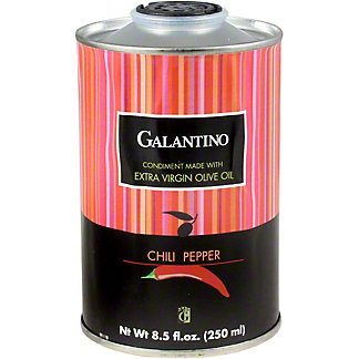 Galantino Extra Virgin Olive Oil Chili Pepper, 8.45 OZ