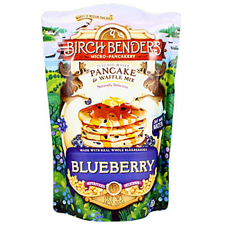 Birch Bender Blueberry Pancake & Waffle Mix, 14 OZ