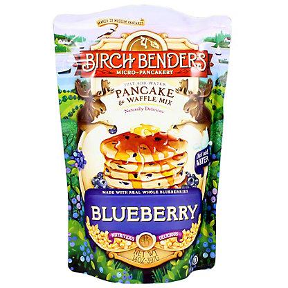 Birch Bender Blueberry Pancake & Waffle Mix, 14 OZ