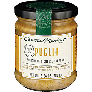 Central Market Artichoke & Cheese Tapenade, 6.7 oz