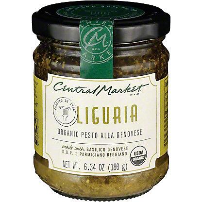 Central Market Organic Pesto Genovese, 6.7 oz