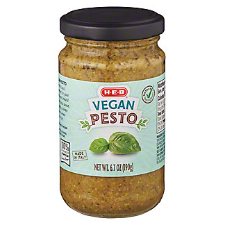 H-E-B Select Ingredients Vegan Pesto, 6.7 oz