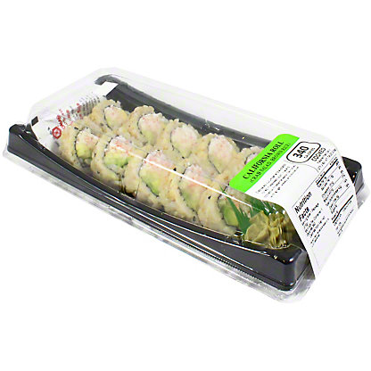 Yummi Sushi Brown Rice California Roll, ea