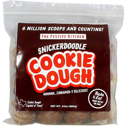 Festive Kitchen Snickerdoodle Cookie Dough, 24 oz