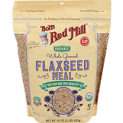 Bob's Red Mill Organic Flaxseed Meal, 16.00 oz