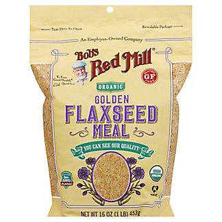 Bobs Red Mill Golden Flaxseed Meal Organic, 16 oz