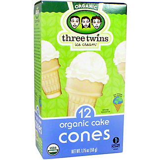 Three Twins Cake Cones, 12 ct