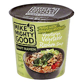 Mikes Mighty Good Vegetarian Veggie Noodle Soup, 1.9 OZ