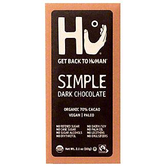 Hu Simple Chocolate Bar, 2.1 oz