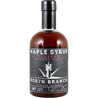 North Branch Bourbon Barrel Aged Maple Syrup, 12 oz