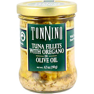 Tonnino Tuna Filets With Oregano, 6.7 oz