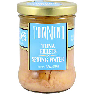 Tonnino Tuna Filet In Water, 6.7 oz