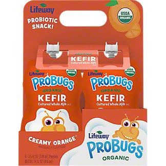 Lifeway Probugs 4PK Creamy Orange, 14 OZ