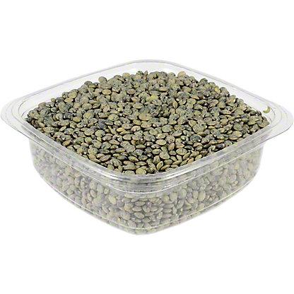 Organic Green Lentils, lb