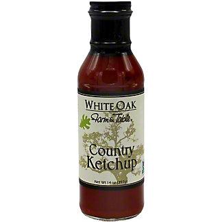 White Oak Country Ketchup, 12 OZ