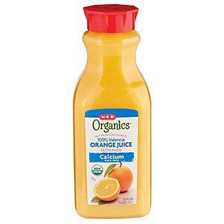 H-E-B Organics Pulp Free Orange Juice with Calcium, 52 oz