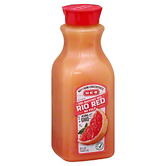 H-E-B Select Ingredients No Pulp Rio Red Grapefruit Juice, 52 oz