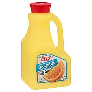 H-E-B Select Ingredients No Pulp Orange Juice with Calcium, 89 oz
