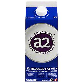 a2 Milk 2% Reduced Fat Milk, 59 oz