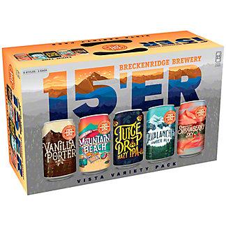 Breckenridge Sampler 12 oz Cans, 15 pk