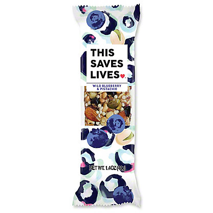 This Bar Saves Lives Wild Blueberry, 1.4 OZ
