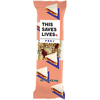 This Bar Saves Lives Peanut Butter & Jelly, 1.4 OZ