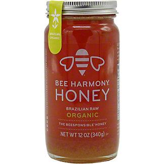 Bee Harmony Honey Organic Brazilian, 12 OZ