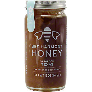 Bee Harmony Honey Local Texas, 12 OZ