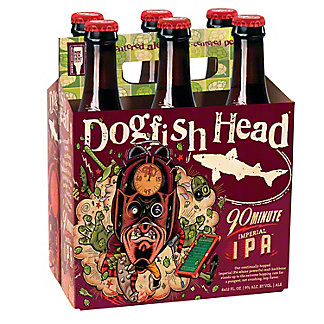 Dogfish Head 90 Minute IPA, 6 pk
