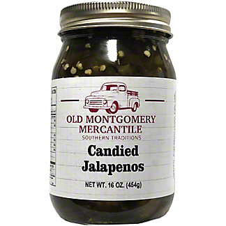 Old Montgomery Mercantile Candied Jalapenos, 16 oz