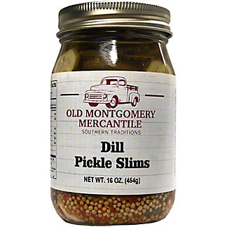 Old Montgomery Mercantile Dill Slims Pickles, 16 oz