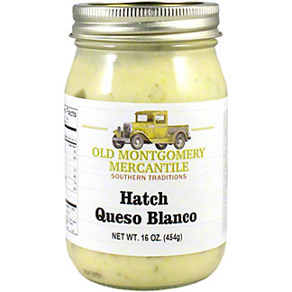 Old Montgomery Mercantile Blanco Hatch Queso, 16 oz