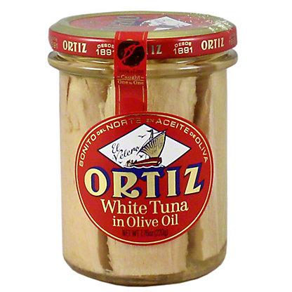 Ortiz Bonito Tuna Olive Oil Jar, 220 g