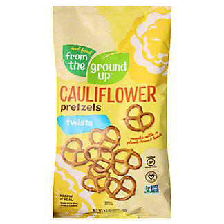 From The Ground Up Cauliflower Sea Salt Twists, 4.5 oz