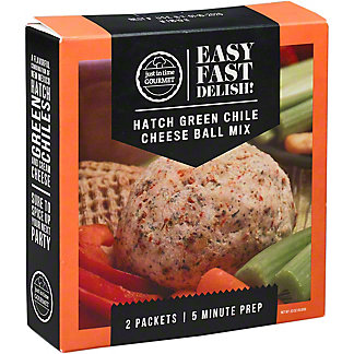 Just In Time Gourmet Hatch Chili Cheese Ball Mix, 0.63 OZ