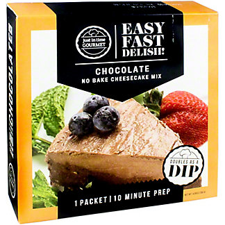 Just In Time Gourmet Chocolate Cheesecake Mix, 4.62 OZ