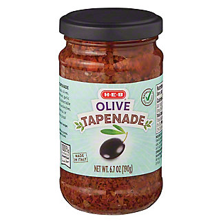 H-E-B Select Ingredients Olive Tapenade, 6.7 oz