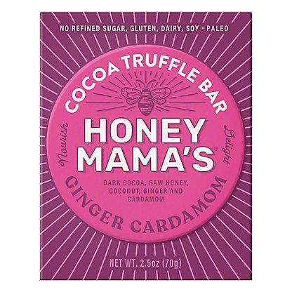 Honey Mamas Honey Cocoa Bar Ginger Cardamom, 2.5 oz
