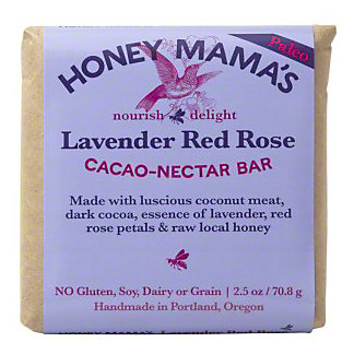 Honey Mamas Honey Cacoa Bar Lavender Rose, 2.5 oz