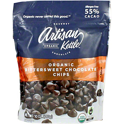 Artisan Kettle Organic Bittersweet Chocolate Chips, 10 oz